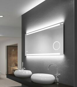 Led Badspiegel Talos King 120x60 Beleuchtung Badezimmer