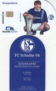Knappenkarte-FC-Schalke-04-Jiri-Nemec-Huelle-5-Guthaben-Ehrenkabine