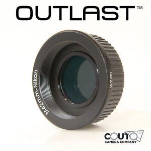 OUTLAST-M42-Nikon-Adapter-WITH-GLASS-FOR-INFINITY-M42-to-Nikon-F-AI-M42-Nikon