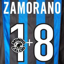 ZAMORANO PERSONALIZZAZIONE INTER PRINT NOME NUMERO HOME KIT NAME SET 1998-99