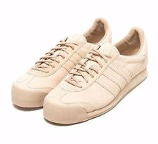 Brand New Adidas Samoa VNTG Vintage Shoes Beige Suede Leather Men's Size 11.5