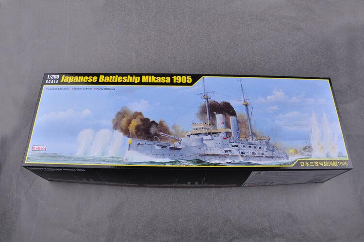 Merit 1 200 62004 Japanese Battleship Mikasa 1905