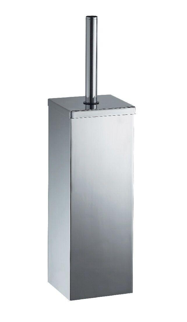 Haceka Mezzo Chrome Toilettenbürste mit Halterung  WC Bürstengarnitur Rostfrei