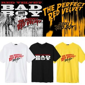 e8f1468f264c7e KPOP Red Velvet T-shirt Bad Boy Tshirt Joy SeulGi Casual Letter Tee ...
