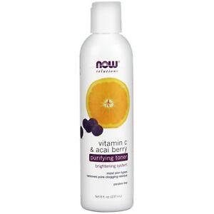 NOW-Foods-Vitamin-C-amp-Acai-Berry-Purifying-Toner-8-fl-oz