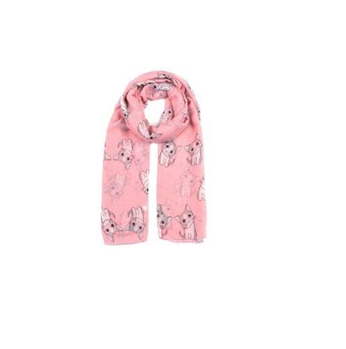 Ladies Cute Cat Print Soft Lightweight Oversize Shawl Wrap Scarf Sarong
