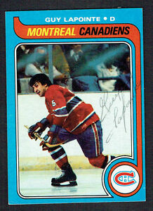 Guy-Lapointe-135-signed-autograph-auto-1979-80-Topps-Hockey-Trading-Card