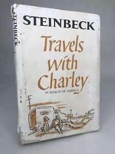 John Steinbeck - Travels with Charley - 1962 - HC/DJ