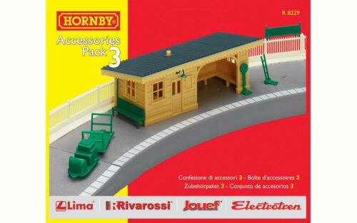 Hornby R8229, TrakMat Accessories Pack 3