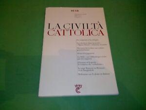 Civilta Cattolica, Janvier 2018 Dernier Style