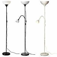 IKEA NOT Deckenfluter Stehlampe Standleuchte Lampe Leseleuchte schwarz weiß NEU