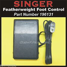 SINGER Sewing Machine Featherweight NEW Foot Control Pedal 196131 Fits 221 & 222