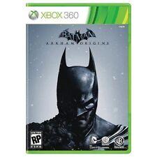Xbox 360 Batman: Arkham Origins + Deathstroke Challenge Pack DLC (2016) NEW