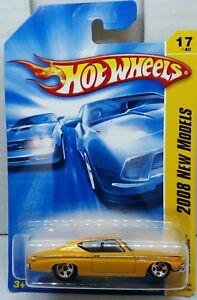 HOT WHEELS 2008 NEW MODELS 1969 CHEVELLE DARK RED 17