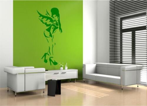 Wall Stickers HUGE BANSKY STYLE AMY WINEHOUSE WALL STICKER wall art decal S42