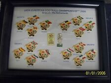 UEFA Championship 2000 pin badge set