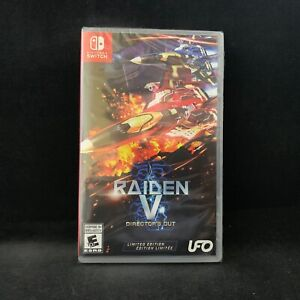 Raiden-V-Director-039-s-Cut-Limited-Edition-Nintendo-Switch-BRAND-NEW