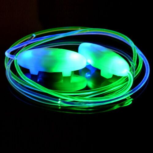 L//P 1 Paar LED Leuchtende Schnürsenkel für Sport Schuhe 80cm Farbenwahl M6209