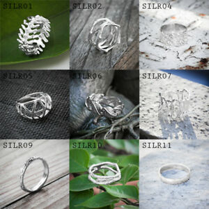 Thai-Silver-Sterling-silver-925-Ring-Handmade-Design-Vintage-From-Thai-Factory