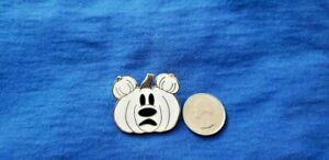 Disney Parks Halloween Painted Pumpkins Ghost Mickey Mouse Mystery Pin