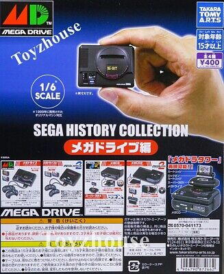 />**Takara Tomy Sega History Collection Mega Drive MD Gashapon Set of 4pcs 2019