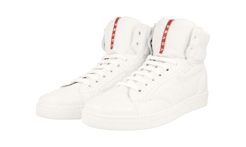 Authentique 4t2596 40 Eu 41 Chaussures Prada Blanc 5 7 5 Nouveau Us De Luxe 8057091488752 Sneakers dCxBtshQor