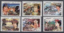 Libyen 1047 - 1052 postfrisch 13. Jahrestag der Septemberrevolution
