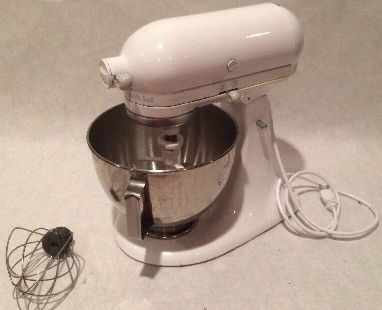 Vintage Kitchen Aid Ultra Power 300 W robot mélangeur KSM90WW Avec Pièces Jointes