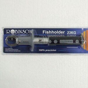 ROBINSON Fischgreifer mit Waage bis 23 kg Fischgripper Lip Grip Landezange