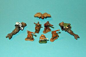 STAR-WARS-Micro-Machines-ENDOR-SET-Ewoks-Scout-Trooper-C-3PO-figures-lot-P