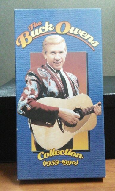 BUCK OWENS COLLECTION ~ 1959-1990 ~ 3 CD BOX SET ~ BOOKLET       LIKE NEW