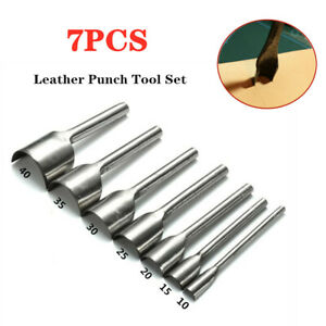 Leather Craft Cutter Tools Punch Strap Belt Wallet End Tool Die Cut DIY 15-38mm