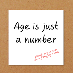 Image Is Loading Birthday Card Funny Humorous 50th 60th Getting Old