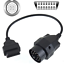 1X 20 TO 16 PIN OBD2 Car Auto Cable Adapter Diagnostic Tool Connector For BMW