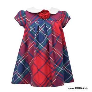 BONNIE JEAN Mädchen Kleid W25879-DS Festkleid Party Rot X-MAS NEU aus USA