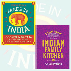 Indian-Family-Kitchen-2-Books-Collection-Set-Made-in-India-Cooked-in-Britain