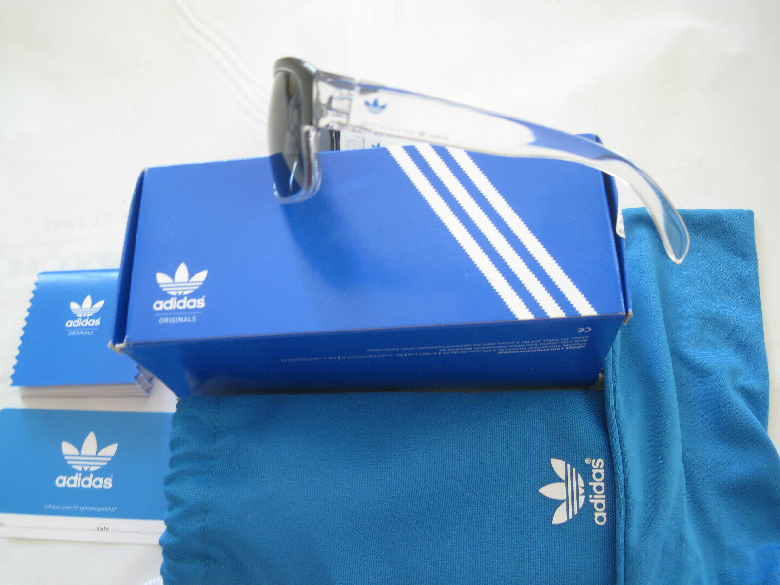 ADIDAS SANTIAGO  RECTANGLE RECTANGLE  Sunglasses-AH26-00-NWT-AUTHENTIC-LIMITED EDITION 35dbf6