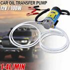 DC 12v 100w Car Engine Oil Transfer Extractor Pump Fluid Diesel Electric Siphon