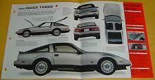 83 1984 Datsun nissan 300ZX Turbo 2960cc V6 EFI Nissan IMP Info/Specs/photo 15x9