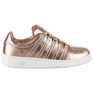 5b76350944a6 K-Swiss Classic VN Aged Foil Edition Women s Sneaker Shoes Gold ...
