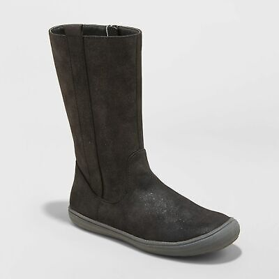 Cat /& Jack Black 3 Girls/' Magda Microsuede Tall Fashion Boots