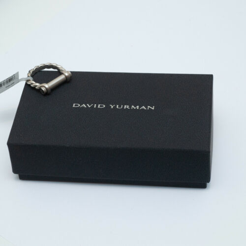 Details about  /New DAVID YURMAN 7mm Maritime Shackle Ring in Sterling Silver Size 9