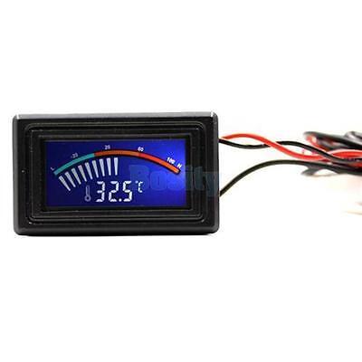LCD Digital Thermometer Temperature Sensor Gauge C/F PC MOD Freezer -10℃ - 70℃