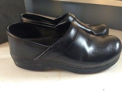 Comfort Shoes Clothing, Shoes & Accessories Dansko Women's Black Leather Professional Clogs Mules Size 39 Us 8.5-9 Matte