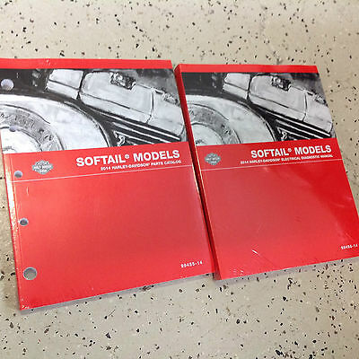 Other Motorcycle Manuals 2014 Harley Davidson SOFTAIL MODELS ...