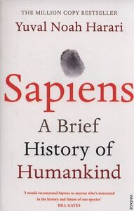 Sapiens-A-Brief-History-of-Humankind-by-Yuval-Noah-Harari-Paperback-Book-NEW