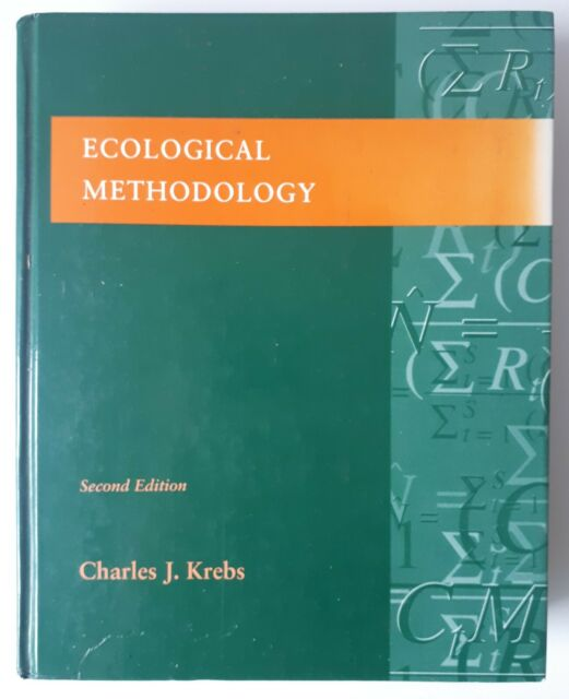 Ecological Methodology, Krebs, Charles J., Book, ISBN 97803210217, Research