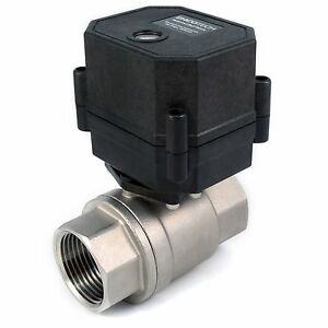 1-034-Motorized-Ball-Valve-Stainless-110-115-120-220-240-VAC-N-O-Normally-Open