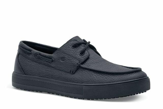 Shoes for Crews Men's Edmund Slip Resistant Food Service Work Boat Shoes