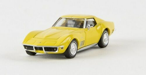 Brekina 19976-1//87 Corvette c3 Coupe rapsgelb TD-nuevo
